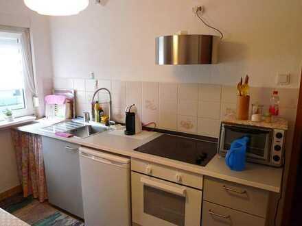Stilvolle, gepflegte 2-Zimmer-EG-Wohnung mit Einbauküche in Michelstadt