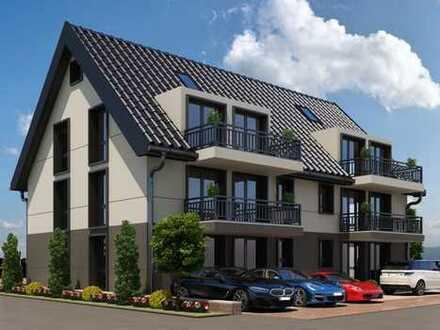 Helle, exclusive 3 ½ Zi. DG-Wohnung im 2. OG mit Balkon in ruhiger Lage + ausbaubarem Dachboden
