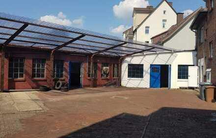 Gewerbehalle in zentraler Lage – geeignet als Werkstatt, Lager, etc.