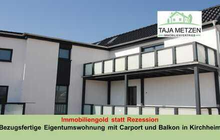 Immobiliengold statt Rezession  Bezugsfertige Eigentumswohnung mit Carport und Balkon in Kirchheim