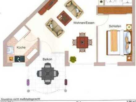 Schöne zwei Zimmer Wohnung in Rems-Murr-Kreis, Welzheim
