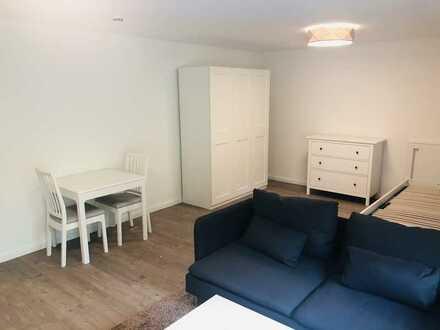 Schöne neu möblierte modernisierte 1-Zimmer-Wohnung mit Balkon und EBK in Bietigheim-Bissingen