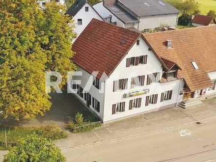 Keine Käuferprovision! Gaststätte mit Metzgerei – ideal für Umbau als Mehrfamilienhaus