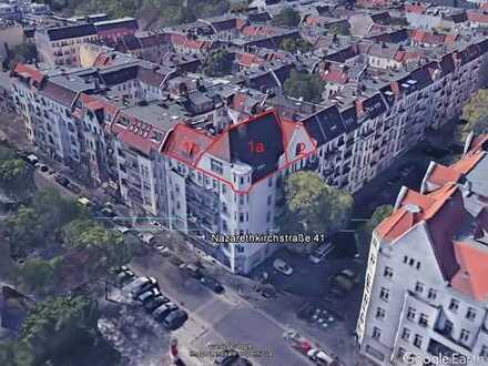 gepl. Ausbau von Dachgeschosswohnungen in Wedding, 1 von 3 WE noch zu haben!