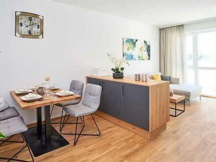 4-Zimmer-Wohnung mit Dachterrasse im Generationenpark Großmehring