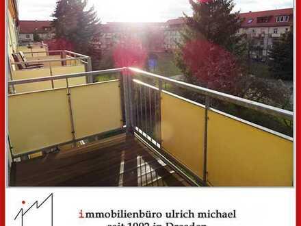 !! Helle, gemütl. Singlewohnung * Wohnküche + EbK * gr. S/W-Balkon * Nähe Toeplerpark