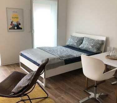 Möbliertes Apartment in Flingern (Flincarré) - Wohnen im Szeneviertel