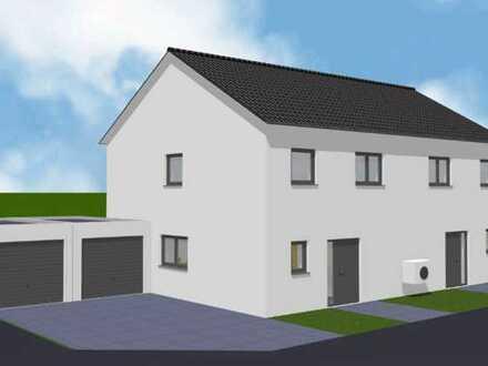 Haushälfte in einem großzügigen Zweifamilienhaus im Neubaugebiet in Ober-Olm zu vermieten