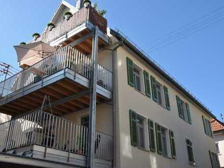 Topsanierte Altbauwohnung in Geislingen mit 16qm Südbalkon