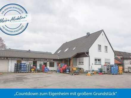 Countdown zum Eigenheim mit großem Grundstück