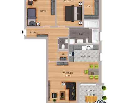 F&D   Wohnung 4.6 - Haus 4