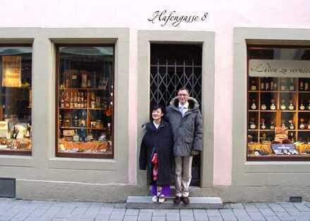 Laden in Bestlage in Rothenburg ob der Tauber