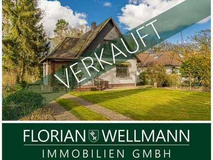 Hamburg - Bergstedt | Ein- oder Zweifamilienhaus mit Garten in familienfreundlicher und grüner Lage