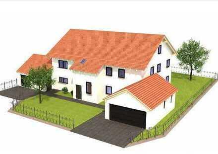 Schöne große 6 Zimmer Wohnung mit Süd Balkon auf Feld und Wiese, 3 km von der Autobahn entfernt
