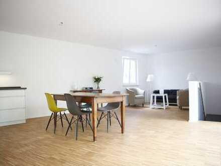 Glockenbach: 130qm Maisonette-Dachterrassen-Penthouse-Wohnung