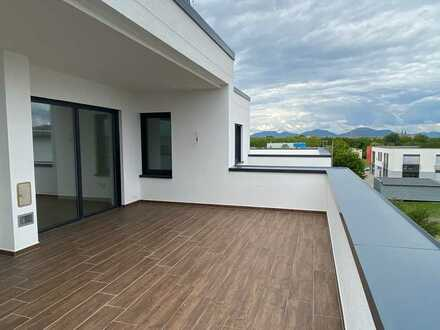 ++ WOHNEN & ARBEITEN! Penthouse als Wohn-/Gewerbefläche am neuen Gewerbepark/Messegelände! ++