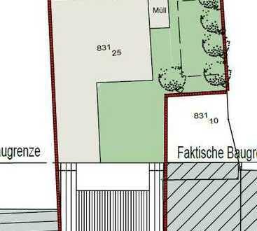 Grundstück mit Baugenehmigung für 3 - Familienhaus