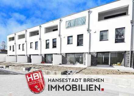 Walle / Neubau: Reihenmittelhaus mit moderner Architektur