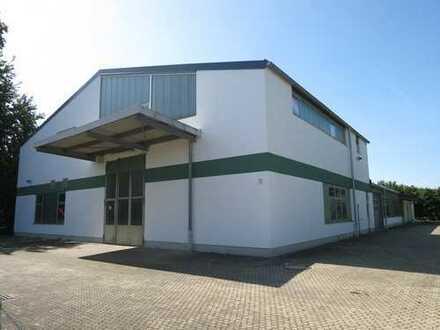 Produktions-u. Lagerhalle mit Freifläche