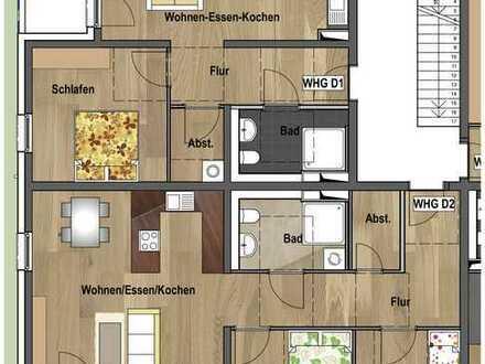 Erdgeschoss - Wohnung D01