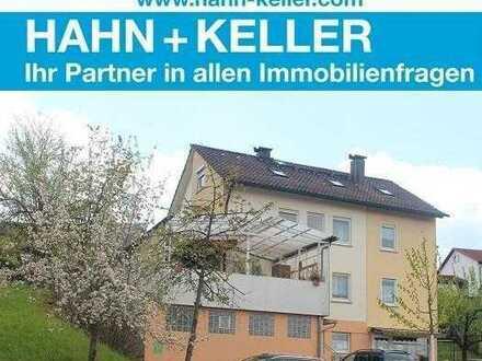 Seltene Gelegenheit! Kleineres Mehrfamilienhaus mit Ladeneinheit & Garten in Bünzwangen!
