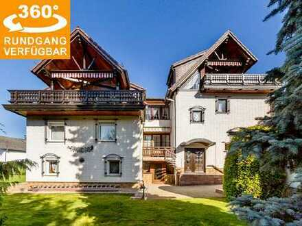 Spacious residence (264 m² living space + 174 m² usable floor space) for up to 3 parties in Heubach