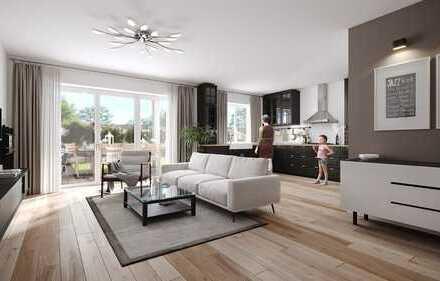 NEUBAU-ERSTBEZUG Hochwertige 4 Zimmer Maisonette-Wohnung + Aufzug in Duisburg