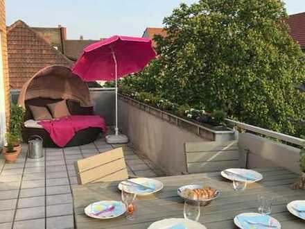 MA-Oststadt, Penthouse mit großer Dachterrasse