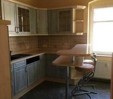 Chemnitz Harthau-4 Zimmerwohnung mit Einbauküchen und Garten und Garage