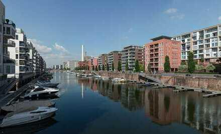 !!! Gehobenes Wohnen mit Wasserblick direkt am schönen Westhafen / 85qm / 7.OG / 3 Meter hohe Decken
