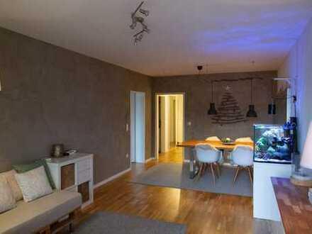 PROVISIONSFREIE, stilvolle, modernisierte 3-Zimmer-Wohnung mit Balkon, zentrumsnah in Landshut