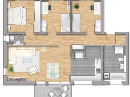 Bereits im Bau: Helle und sonnige 4-Zi.-Wohnung mit super Aufteilung in toller Wohnlage von Sinsheim