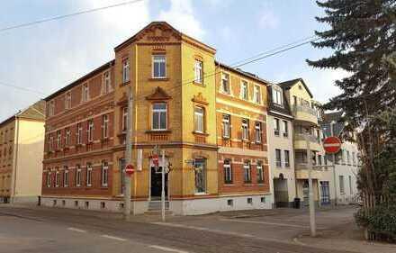 Marienthal! 2-Raum-Wohnung im Dachgeschoss, Balkon, Küche und Bad mit Fenster, verkehrsgünstige Lage