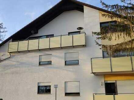 Exklusive, modernisierte 3-Zimmer-DG-Wohnung mit Balkon und Einbauküche in Alzey