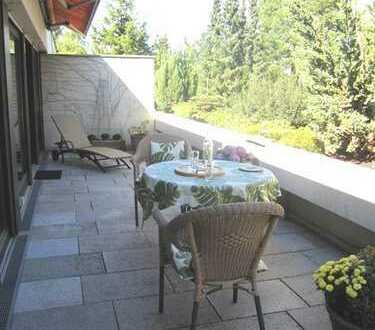 Bestlage Harlaching - Traumhafte 2 Zi.-Dachterrassenwohnung mit Blick ins Grüne