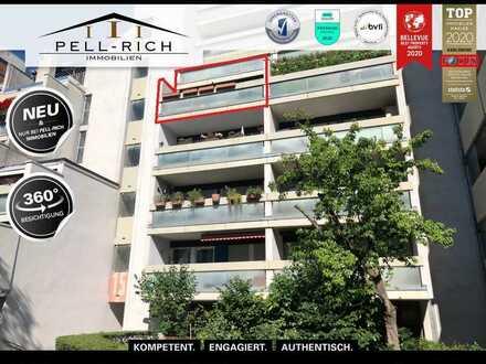 MIET MICH: Sofort verfügbare Wohnung mit TG-Stellplatz und 2 Balkone in der Karlsruher Oststadt