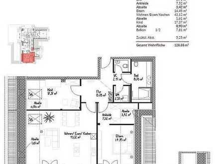 Exklusive 3-Zimmer-Neubauwohnung