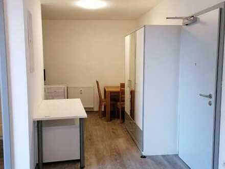 Stilvolle, gepflegte 1-Zimmer-Wohnung mit Balkon und Einbauküche in Amberg