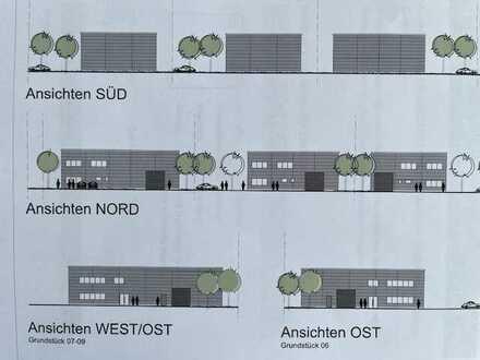 Neubau! Lagerhalle mit 406 qm in Viernheim direkt vom Eigentümer zu verkaufen