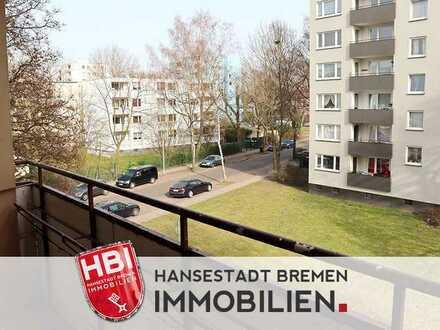 Huchting / Nähe Roland-Center / Helle Drei-Zimmer-Wohnung