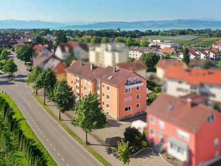 Wohnen am Bodensee - Sofort freie 3-Zimmer-Wohnung mit sonnigem Balkon in Kressbronn!