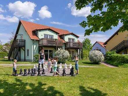 Schöne 2 bis 2,5 Zimmer Wohnung in Müritz (Kreis), Rechlin - als Ferienwohnung nutzbar
