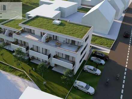 Baubeginn erfolgt: 3,5-Zi. EG/OG-Maisonnette-Wohnung mit SW-Terrasse in Wetzgau direkt vom Bauträger
