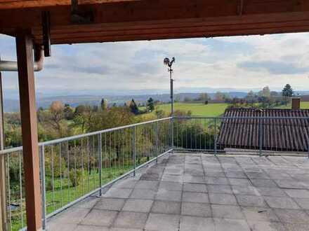 Helle 3-Zimmer-Wohnung mit herrlicher Terrasse, EBK in Tübingen