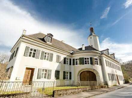 Denkmalgeschützes Schloss im Regensburger Umland