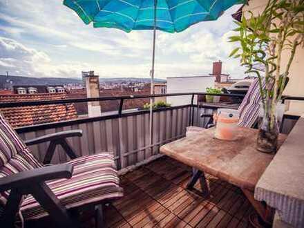 Sonnige gepflegte 2 Zimmer Wohnung in der Nordstadt