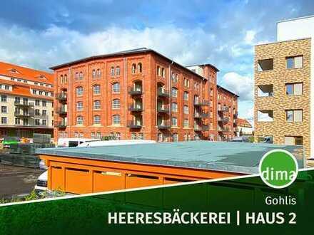 ERSTBEZUG | Heeresbäckerei -Haus 2 | Balkon und eigener Gartenanteil + TG-Stellplatz + 2 Bäder + HWR