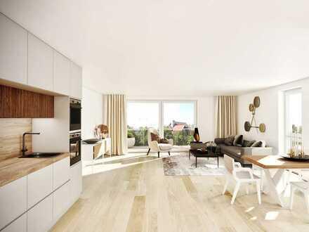 Zentrale Lage: 4-Zimmer-Wohnung mit Balkon in exklusivem Neubau!