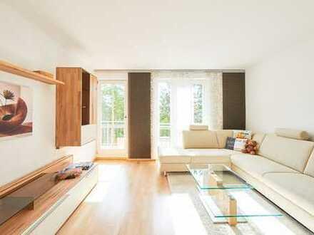 Premiumwohnung: Sehr schöne, Top möbilierte & sehr ruhige, sehr gut vermietete 3 Zi-Whg (Schwabing)