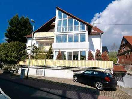 Schöne 3-Zimmer-Maisonette-Wohnung in der Stadtmitte von Steinbach!